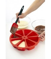 Forma silikonowa do ciasta w porcjach 0216008R01M017 / Lekue