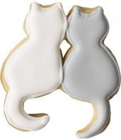 Foremka do wykrawania ciastek PARA KOTÓW 9cm 191 822 Birkmann