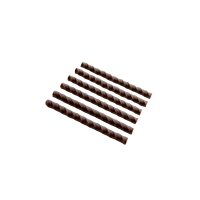 Ołówki i rurki czekoladowe