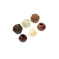 Korpusy czekoladowe do trufli