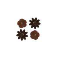 Kwiaty, Liście, Wachlarzyki czekoladowe