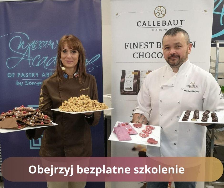 Bezpłatne szkolenie 5 spsosobów temperowania czekolady