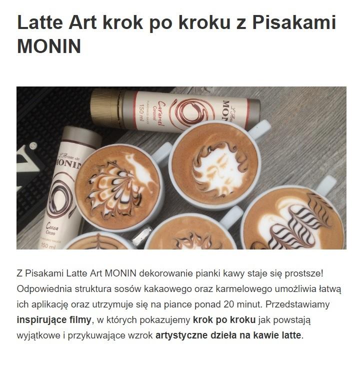 Latte Art Pisaki malowanie na piance kawy krok po kroku