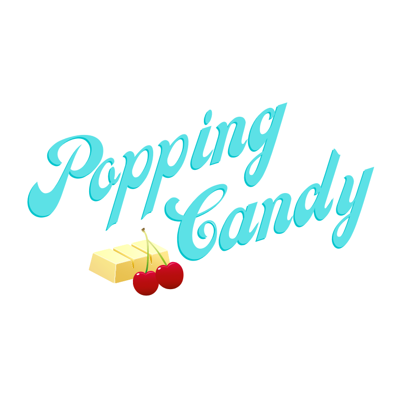 POPPING CANDY CHERRY WHITE CHOCOLATE