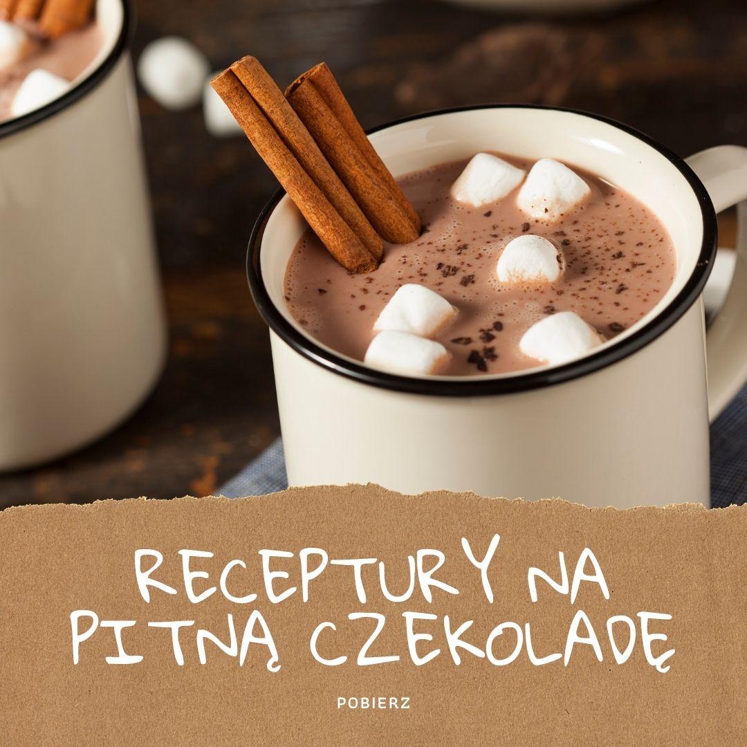 Receptury na pitną czekoladę w kubku
