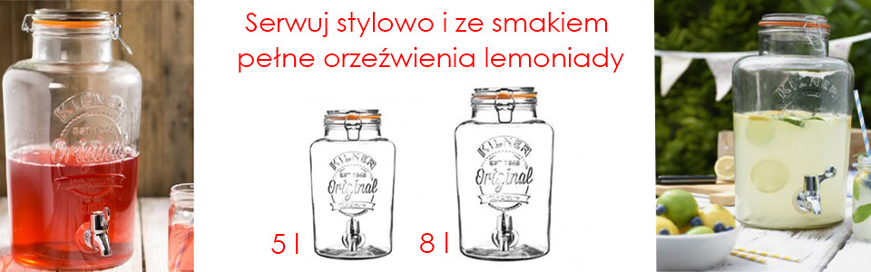 Słoje do lemoniad